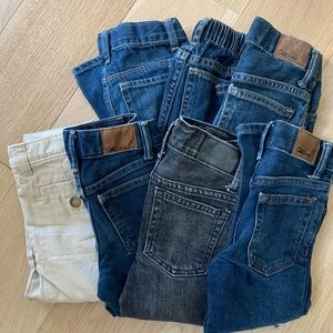 Lot of NWOT Gap and Old Navy Jeans - Sz 2-3T Boys